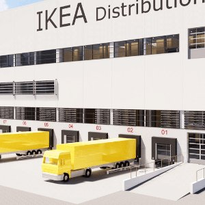 IKEA Logistikzentrum